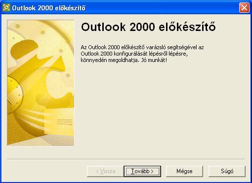 Outlook 2000 előkészítő