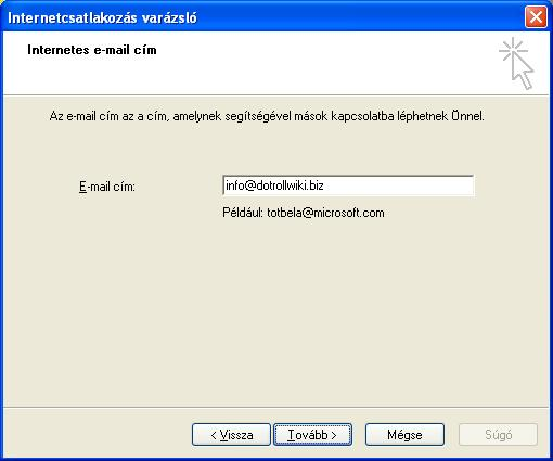 Internetes e-mail cím