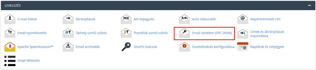 Email védelem (SPF,DKIM)